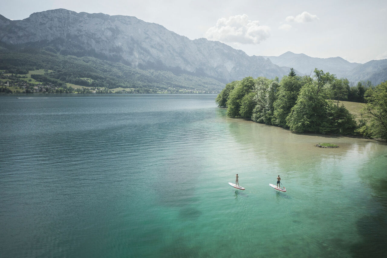 SUP am Attersee 1