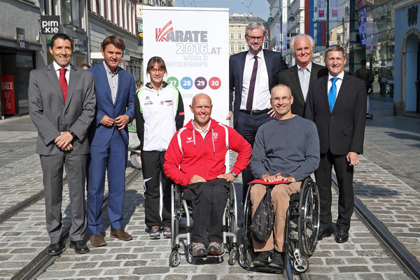 Karate WM 2016 in Linz